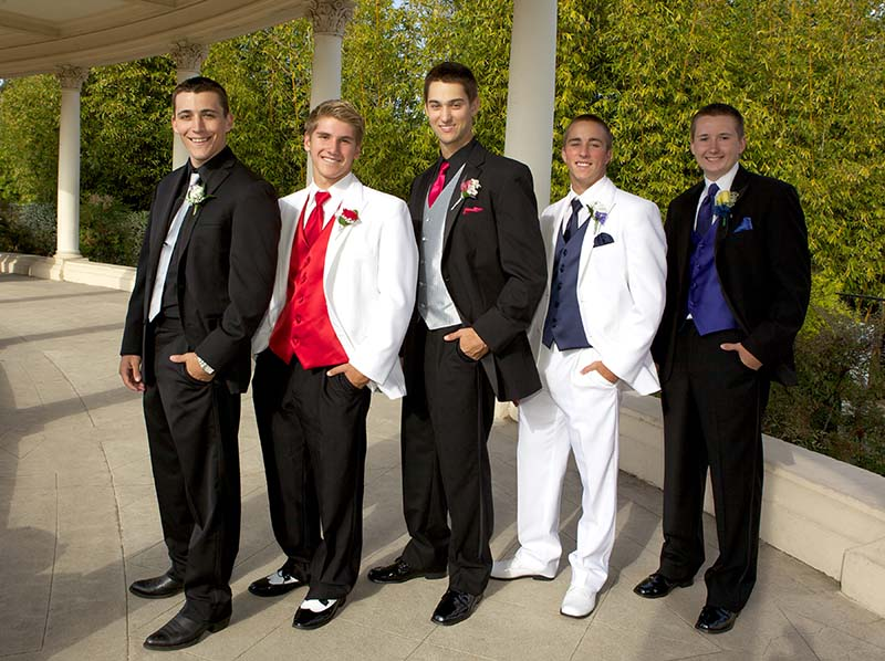 Teenage Boys Wearing Tuxedos for the Prom – Bliss Formal Wear